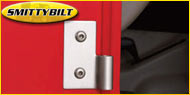 Smittybilt Jeep Lower Door Hinge Brackets