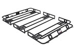 Smittybilt Defender Roof Rack w/ Hard Top 4 x 5 x 4in. Sides - Bolt-Together for 1976-2006 CJ-YJ-TJ