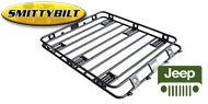 Smittybilt Defender Roof Rack - One Piece Welded for 1984-2009 Jeeps