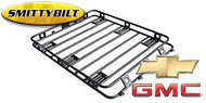 Smittybilt Defender Roof Rack - One Piece Welded for 1993-2005 Chevy/GMC Blazer/Yukon/Tahoe/Sub/Cadillac Escalade