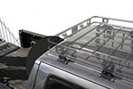 Smittybilt Defender Roof Rack Mounting Brackets Adjust-A-Mount for 2002-2013 Nissan Frontier/Titan