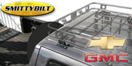 Smittybilt Defender Roof Rack Mounting Brackets Adjust-A-Mount for 1969-2013 Chevy/GMC