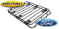 Smittybilt One Piece Defender Roof Rack <br>for 1978-2015 Ford Bronco and Super Duty