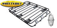 Smittybilt Roof Rack 4.5 x 5 x 4in. Sides - One Piece Welded for 2003-2005 Lincoln Aviator