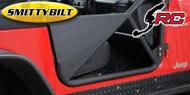 SmittyBilt SRC Front Tubular Doors <br/>97-06 Wrangler TJ