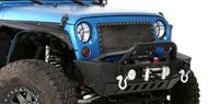 Smittybilt Textured Black XRC Gen 2 Front Bumpers 07-15 Wrangler