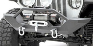 Smittybilt Textured Black XRC Front Bumpers <br>97-06 Wrangler TJ