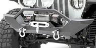 Smittybilt Textured Black XRC Front Bumpers <br>87-95 Wrangler YJ