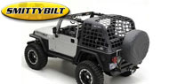 SmittyBilt Jeep Cargo Net <br />for 97-06 Wrangler TJ