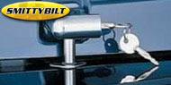 Smittybilt Chrome Locking Hood Catch Kits <br> 97-06 Wrangler TJ