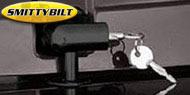 Smittybilt Black Locking Hood Catch Kits <br>97-06 Wrangler TJ