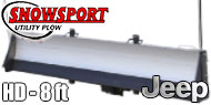 Access Snowsport HD Snow Plow - 8' Blade - Jeep