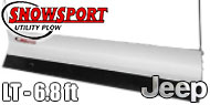Access Snowsport LT Snow Plow - 6.8' Blade - Jeep