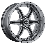 SOTA Wheels <br/>572AB S.P.Y.K Anthra-Kote Black 6-Lug