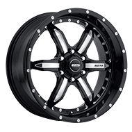 SOTA 572DM S.P.Y.K Death Metal Black Wheels