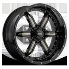 SOTA Wheels <br/>572GM S.P.Y.K Ghost Metal <br/>6 Lug