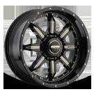 SOTA Wheels <br/>572GM S.P.Y.K Ghost Metal <br/>8 Lug