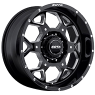 SOTA 560DM SKUL Death Metal Wheels