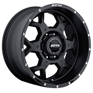 SOTA 560SB SKUL Stealth Black Wheels