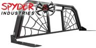 Spyder Industries Headache Racks<br /> Black Widow Window Opening