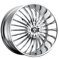 DUB Wheels Suave S140 <br />Chrome