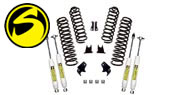 Superlift 4'' Suspension Lift Kits 2007-11 Wrangler JK 2 Door