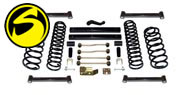 Superlift Suspension Lift Kits 1997-02 Wrangler TJ