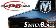 Pace Edwards Switchblade Tonneau Covers for Dodge