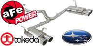 Takeda Exhaust System <br> Subaru