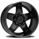 TIS Wheels <br/>543B Satin Black