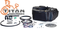 Titan Spare Tire Auxiliary Fuel System
