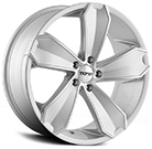 Touren Wheels<br /> TR71 Silver with Machined Face