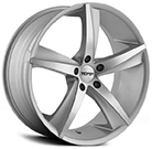 Touren Wheels<br /> TR72 Silver with Machined Face