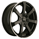 Touren Wheels<br /> TR90 Black Machined Ring