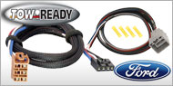 Tow Ready Brake Controller<br>Wiring Adaptors for Ford
