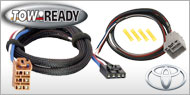 Tow Ready Brake Controller <br> Wiring Adaptors for Toyota
