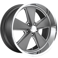 US Mags U120 Roadster Anthracite w/ Polished Lip Wheels