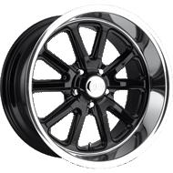 US Mags U121 Rambler Black Gloss Wheels