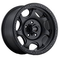 Ultra Wheels<br /> 106 Sawblade Xtreme Satin Black with Satin Black X-Lok Lip