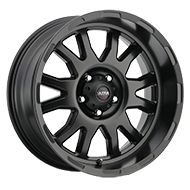 Ultra 108SB Xtreme Satin Black Wheels