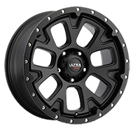 Ultra Wheels<br /> 109SB Xtreme Satin Black