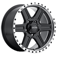 Ultra 176 Vagabond Gloss Black with Diamond Cut Lip Wheels