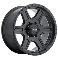 Ultra 176 Vagabond Satin Black with Satin Clear Coat Wheels