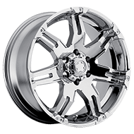 Ultra Wheels<br/> 237C Gauntlet Chrome