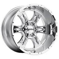 Ultra Wheels<br /> 249 Predator II Chrome 6 Lug