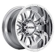 Ultra Wheels<br /> 249 Predator II Ultra V Finish Bright PVD 8 Lug