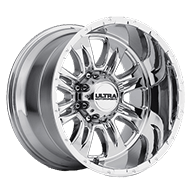 Ultra Wheels<br /> 249 Predator II Chrome 8 Lug