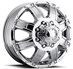 Ultra Wheels<br /> 024 Gauntlet Dually Chrome