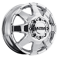 Ultra 025 Phantom Chrome Wheels