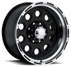 Ultra Wheels<br /> 185 Baja Champ Gloss Black